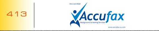 Accufax logo