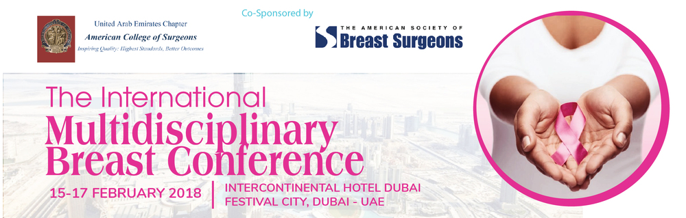 The International Multidisciplinary Breast Conference 2018_Feb 15 - 17, 2018