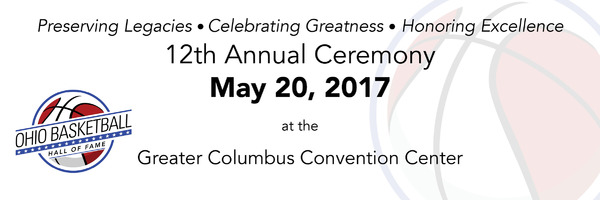 2017 Ohio Basketball Hall of Fame Induction Ceremony