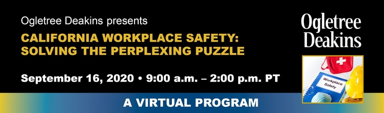 California Workplace Safety: Solving the Perplexing Puzzle