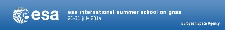 ESA Summer School on GNSS