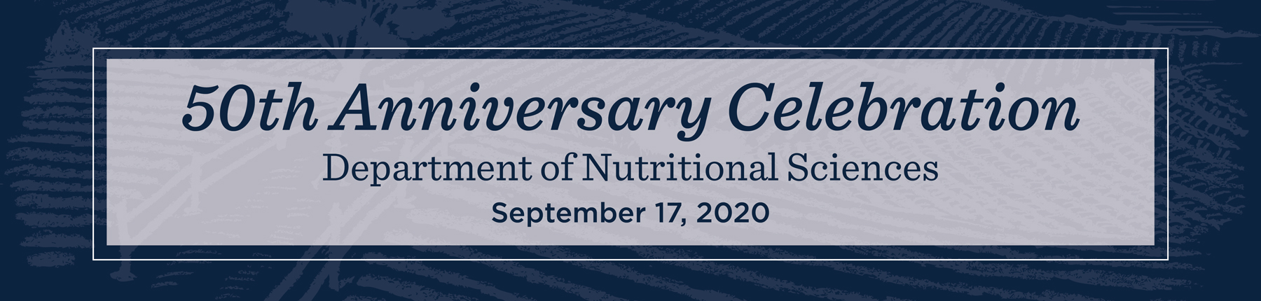 Nutritional Science 50th Anniversary