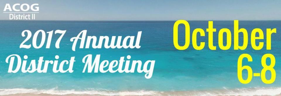 2017 District II Annual Meeting