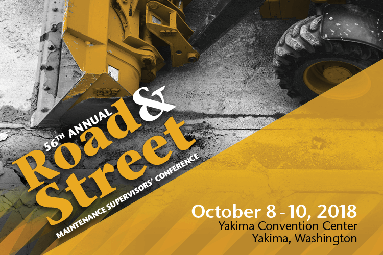 2018 Road & Street Maintenance Supervisors' Conference