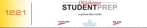 Oklahoma Student Prep logo