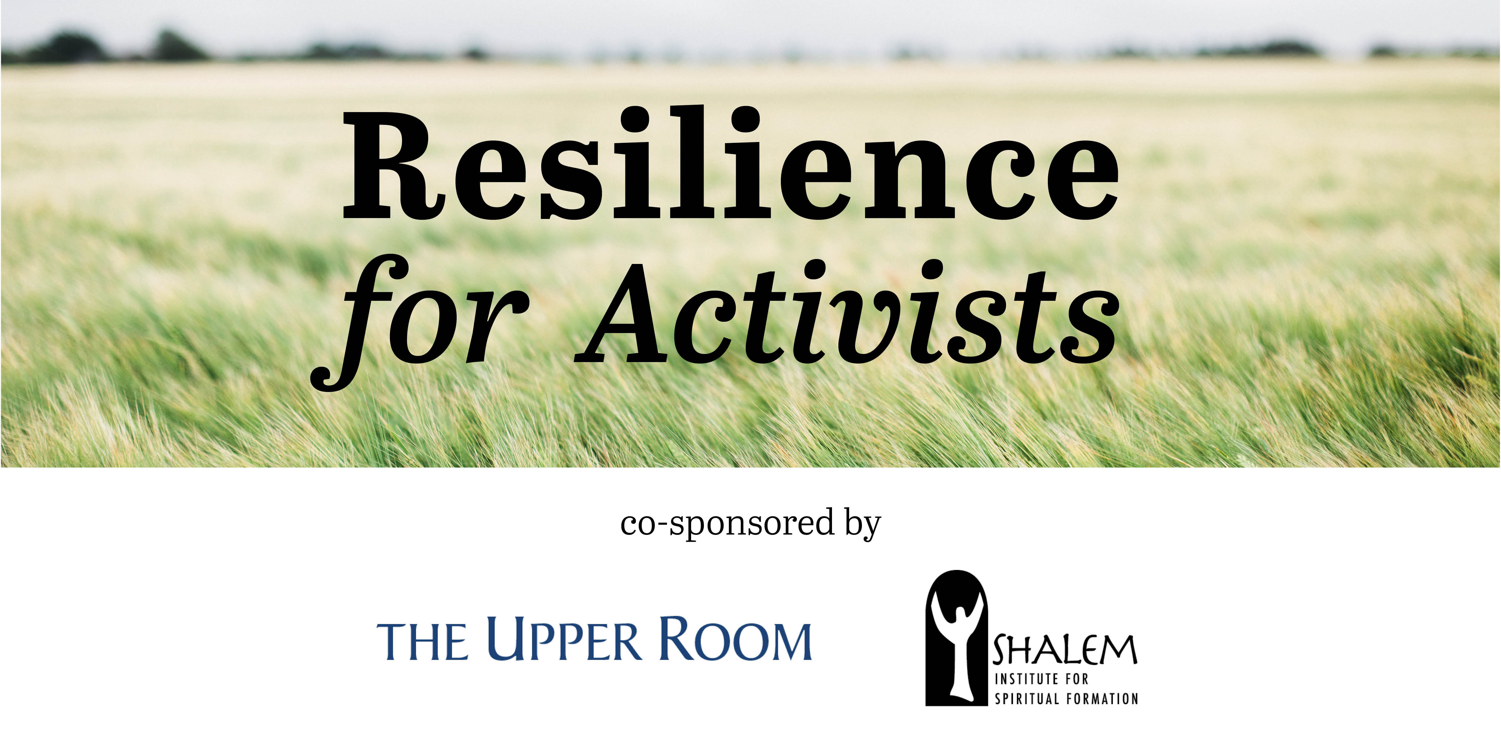 Resilience for Activists