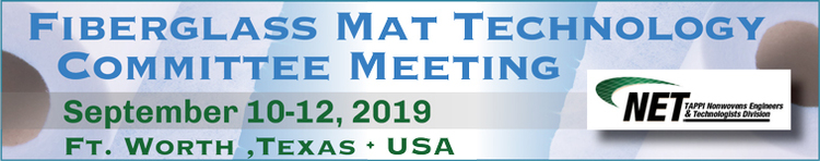 2019 Fiberglass Mat Technology Committee Meeting