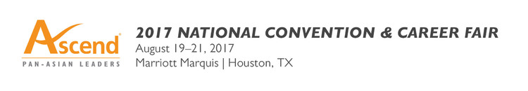 2017 Ascend National Convention & Career Fair