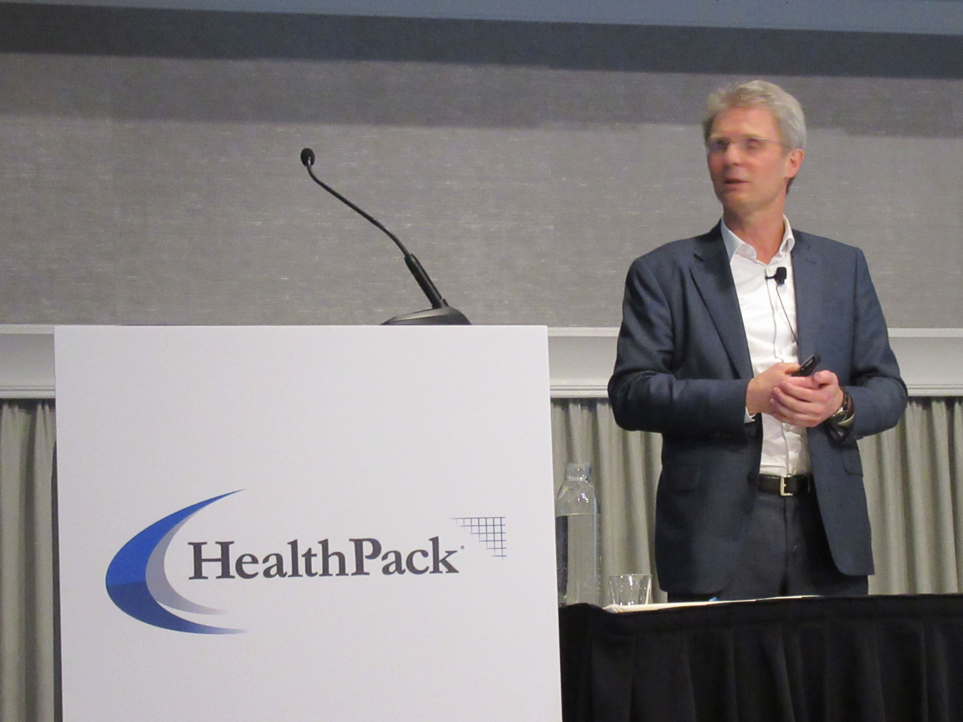 Thierry Wagner at HealthPack 2019