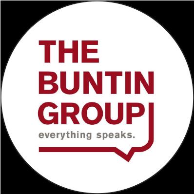 The Buntin Group logo in circle