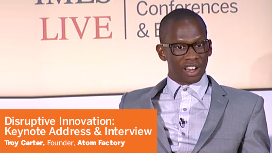 isruptive Innovation: Keynote Address & Interview