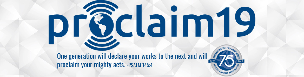 Proclaim 19 Expo and Sponsorship