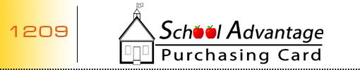 School Advantage Purchasing Card logo