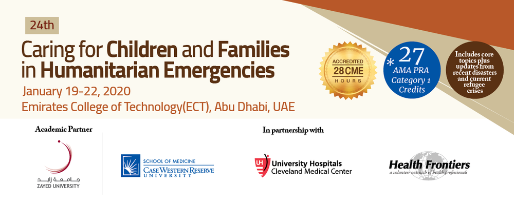 24th Caring for Children and Families in Humanitarian Emergencies _January 19 - 22, 2020 POST TEST
