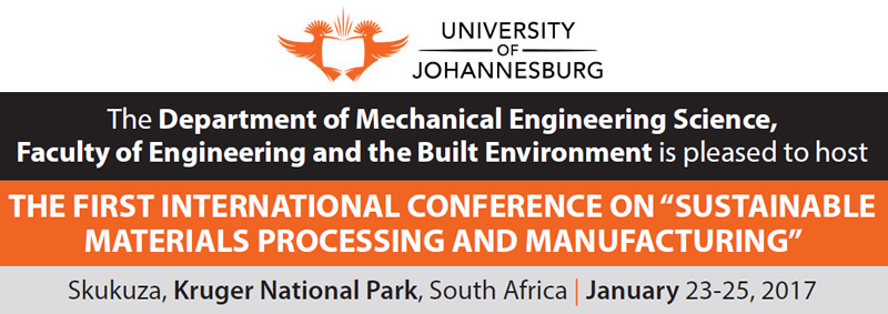 International Conference on Sustainable Material Processing and Manufacturing