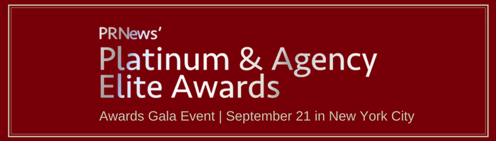 PR News' 2018 Platinum and Agency Elite Awards Packages
