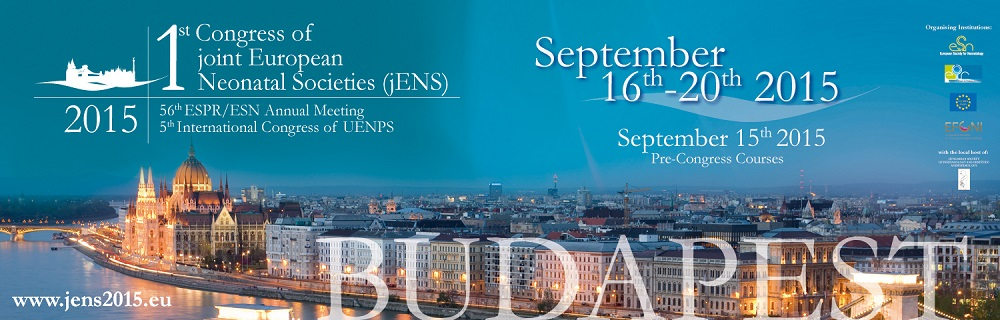 1st Congress of joint European Neonatal Societies (jENS)