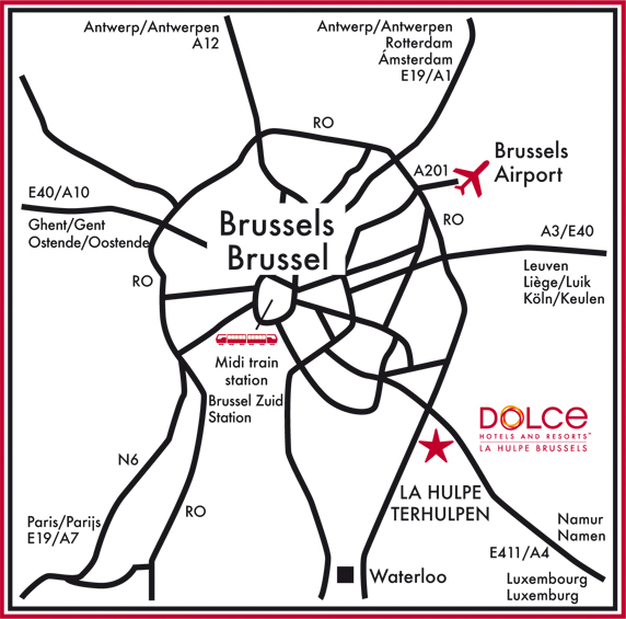 Dolce Directions (Map)