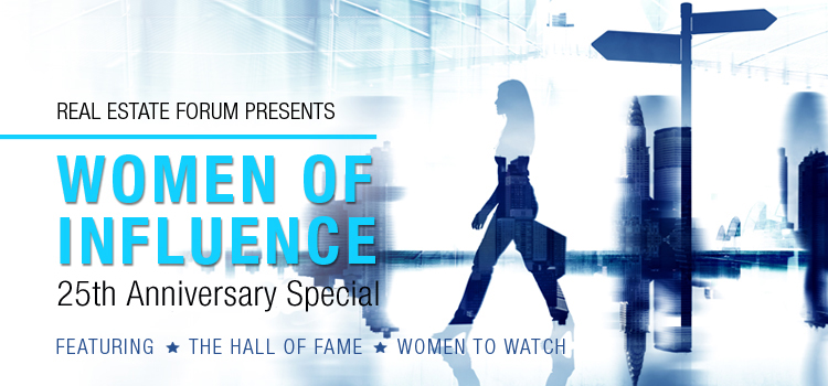Real Estate Forum's Women of Influence 25th Anniversary
