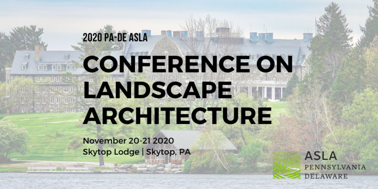 PA-DE ASLA 2020 Annual Meeting
