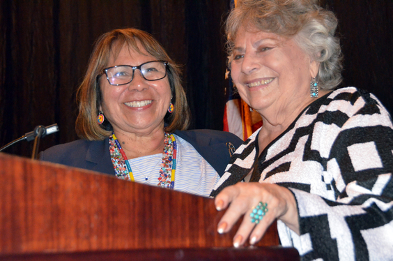 Sue Morris & LaDonna Harris