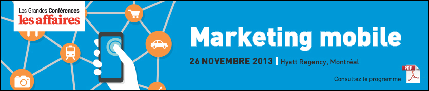 Marketing Mobile - 26 et 27 novembre 2013