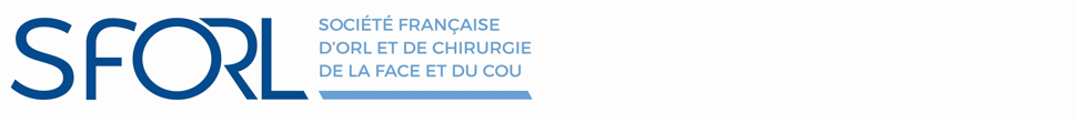 SFORL 2018 - Programme scientifique