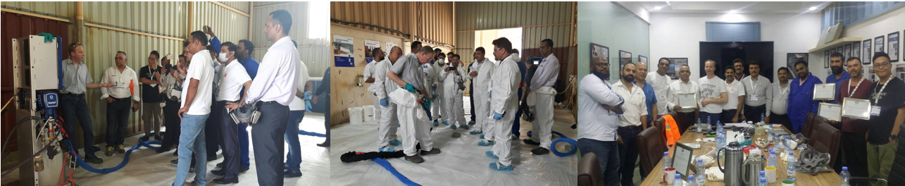 PDA Europe Polyurea Applicator Spray Course - Norway