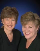 Debbie Castagna and Virginia Moore
