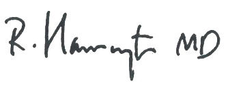 Robert Harrington signature