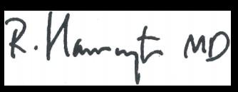 Robert Harrington signature