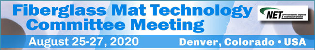 2020 Fiberglass Mat Technology Committee Meeting