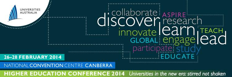 Universities Australia Higher Education Conference 2014