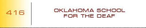 Oklahoma School for the Deaf logo