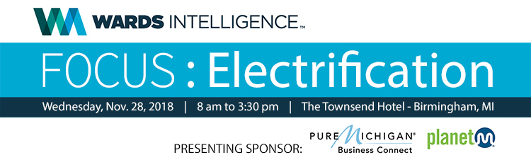 Wards Intelligence FOCUS: Electrification Conference