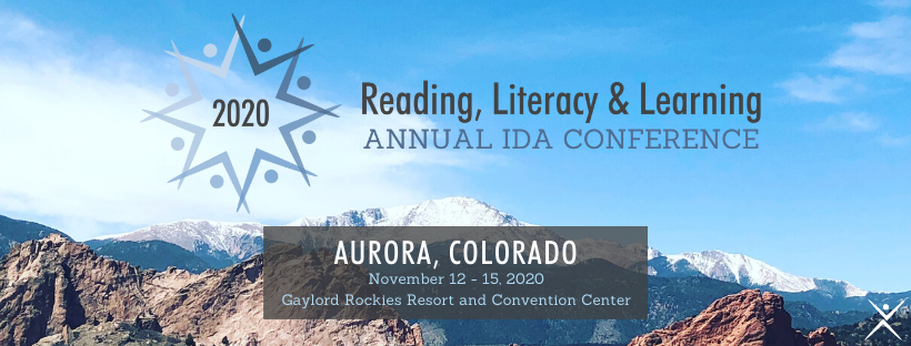 2020 IDA Annual Reading, Literacy & Learning Conference