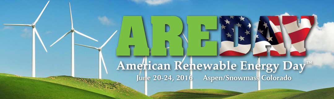 AREDAY - 2016 American Renewable Energy Day Summit