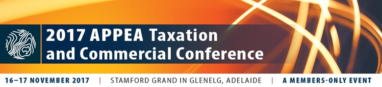 2017 APPEA Taxation and Commercial Conference