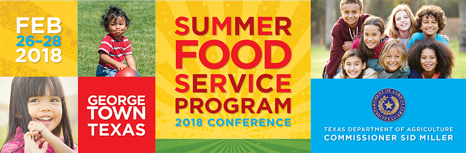 2018 Summer Food Service Program Conference