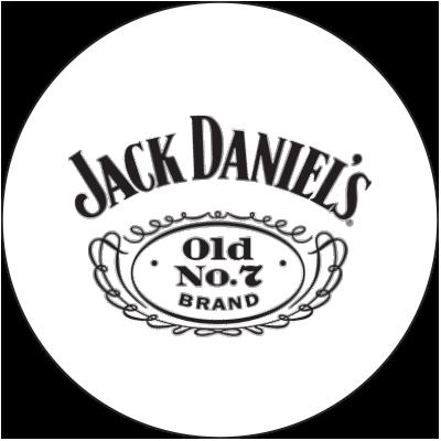 Jack Daniel's logo in circle