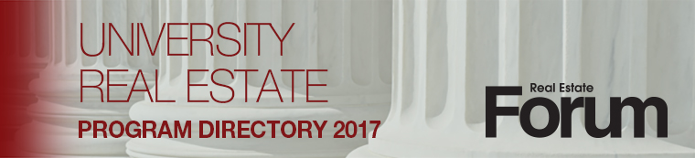 2017 University Real Estate Program Directory