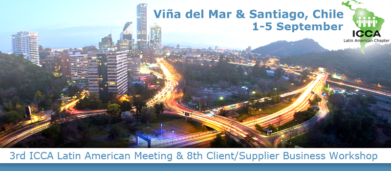 3rd ICCA Latin America Meeting & 8th Client/Supplier Business Workshop