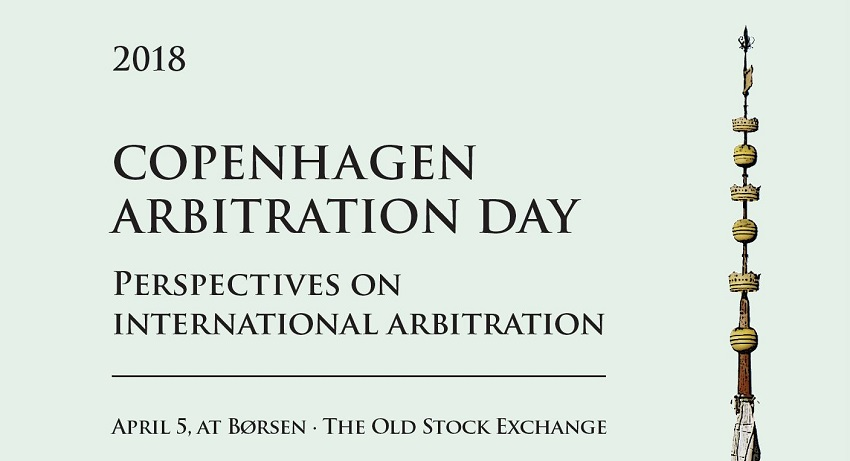 Copenhagen Arbitration Day, 5 April 2018