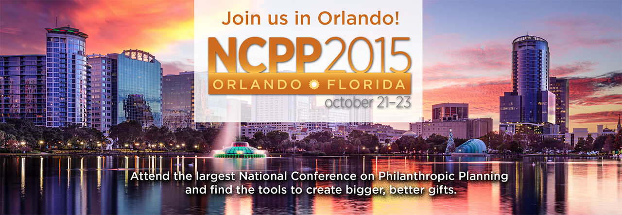 2015 National Conference on Philanthropic Planning