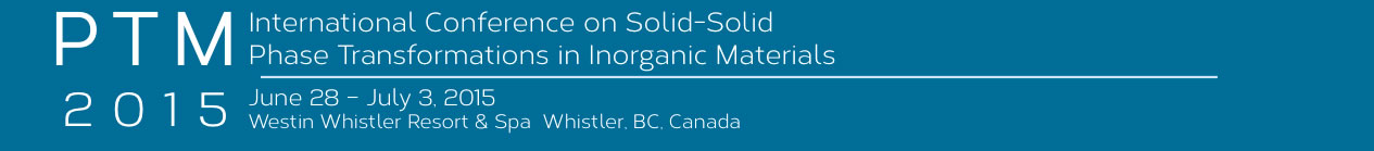 PTM International Conference on Solid-Solid Phase Transformations in Inorganic Materials