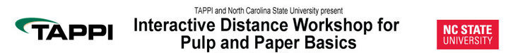 2021 Interactive Distance Workshop for Pulp and Paper Basics