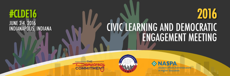 2016 Civic Learning and Democratic Engagement Meeting