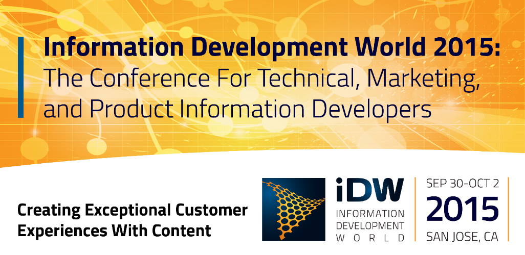 Information Development World 2015