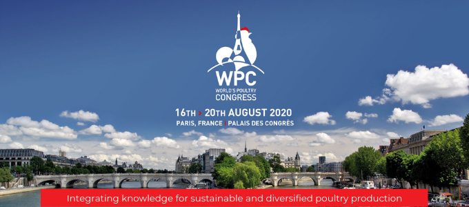 Join us for the World Poultry Congress 2020