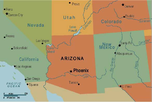 Phoenix Maps Arizona US Maps Of Phoenix Where Is Phoenix AZ Where